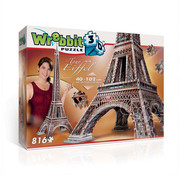 Wrebbit Wrebbit Eiffel Tower Puzzle 816pcs