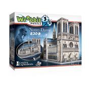 Wrebbit Wrebbit Castles & Cathedrals Notre Dame de Paris Puzzle 830pcs
