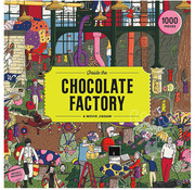 Laurence King Publishing Laurence King Inside the Chocolate Factory Puzzle 1000pcs