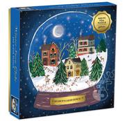 Galison Galison Winter Snow Globe Foil Puzzle 500pcs
