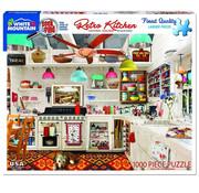 White Mountain White Mountain Retro Kitchen - Seek & Find Puzzle 1000pcs