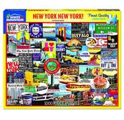 White Mountain White Mountain New York New York Puzzle 1000pcs