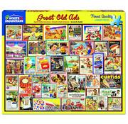 White Mountain White Mountain Great Old Ads Puzzle 1000pcs