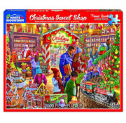 White Mountain White Mountain Christmas Sweetshop Puzzle 1000pcs