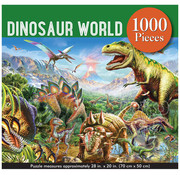 Peter Pauper Press Peter Pauper Press Dinosaur World Puzzle 1000pcs