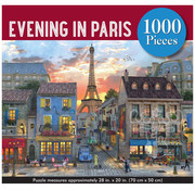 Peter Pauper Press Peter Pauper Press Evening in Paris Puzzle 1000pcs