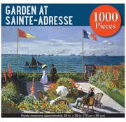 Peter Pauper Press Peter Pauper Press Garden at Sainte-Adresse Puzzle 1000pcs