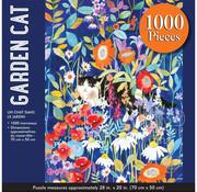 Peter Pauper Press Peter Pauper Press Garden Cat Puzzle 1000pcs