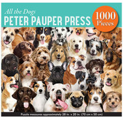 Peter Pauper Press Peter Pauper Press All the Dogs Puzzle 1000pcs