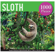 Peter Pauper Press Peter Pauper Press Sloth Puzzle 1000pcs