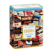 Gibsons Gibsons 1950S Sweet Memories Puzzle 500pcs Gift Tin