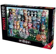 Anatolian Anatolian Cat Family Reunion Puzzle 1000pcs