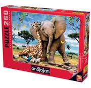 Anatolian Anatolian Best Pals Puzzles 260pcs