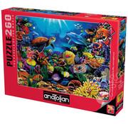 Anatolian Anatolian Sea of Beauty Puzzle 260pcs