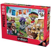 Anatolian Anatolian Puppies Playing Puzzle 260pcs