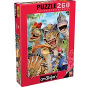 Anatolian Anatolian Dino Selfie Puzzle 260pcs