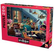 Anatolian Anatolian Kitten Play Bedroom Puzzle 260pcs