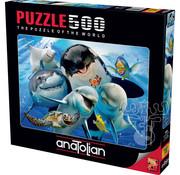 Anatolian Anatolian Ocean Selfie Puzzle 500pcs