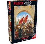 Anatolian Anatolian Entering to Constantinople Puzzle 2000pcs