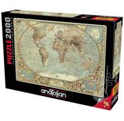 Anatolian Anatolian World Map Puzzle 2000pcs