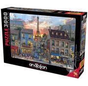 Anatolian Anatolian Streets of Paris Puzzle 3000pcs