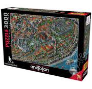 Anatolian Anatolian Fractal Istanbul Puzzle 3000pcs
