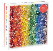 Galison Galison Rainbow Marbles Puzzle 500pcs