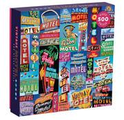Galison Galison Vintage Motel Signs Puzzle 500pcs