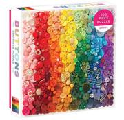 Galison Galison Rainbow Buttons Puzzle 500pcs