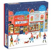 Galison Galison Main Street Village Puzzle 1000pcs