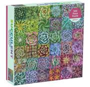 Galison Galison Succulent Spectrum Puzzle 500pcs