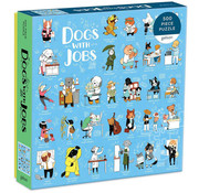 Galison Galison Dogs with Jobs Puzzle 500pcs