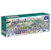 Galison Galison CityScape Panoramic Puzzle 1000pcs