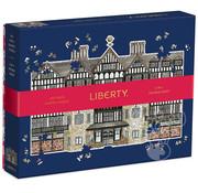 Galison Galison Liberty London Tudor Building Double Sided Shaped Puzzle 750pcs