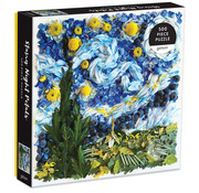 Galison Galison Starry Night Petals Puzzle 500pcs