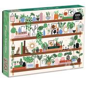 Galison Galison Plant Shelfie Puzzle 1000pcs