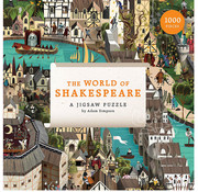 Laurence King Publishing Laurence King The World of Shakespeare 1000pcs