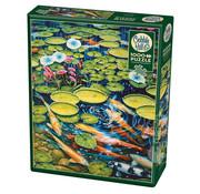 Cobble Hill Puzzles Cobble Hill Koi Pond Puzzle 1000pcs