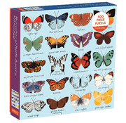 Mudpuppy Mudpuppy Butterflies of North America Puzzle 500pcs