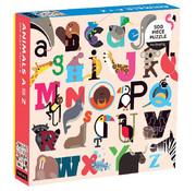 Mudpuppy Mudpuppy Animals A to Z Puzzle 500pcs
