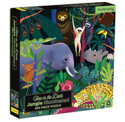 Mudpuppy Mudpuppy Glow in the Dark Jungle Illuminated Puzzle 500pcs