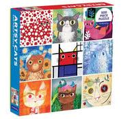 Mudpuppy Mudpuppy Artsy Cats Puzzle 500pcs