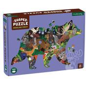Mudpuppy Mudpuppy Woodland Forest Shaped Puzzle 300pcs