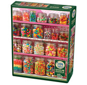 Cobble Hill Puzzles Cobble Hill Candy Shelf Puzzle 1000pcs