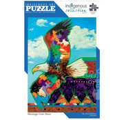 Canadian Art Prints Indigenous Collection: Messenger From Above Puzzle 1000pcs