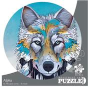Canadian Art Prints Indigenous Collection: Alpha Round Puzzle 500pcs