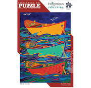 Canadian Art Prints Indigenous Collection: Three Dories Puzzle 1000pcs