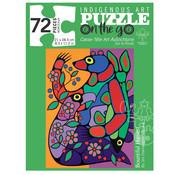 Canadian Art Prints Indigenous Collection: Bountiful Harvest Puzzle 72pcs
