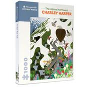 Pomegranate Pomegranate Charley Harper: The Alpine Northwest  Puzzle 1000pcs