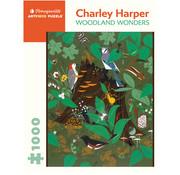 Pomegranate Pomegranate Charley Harper: Woodland Wonders Puzzle 1000pcs
